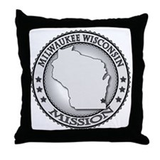 Milwaukee Wisconsin LDS Mission Throw Pillow