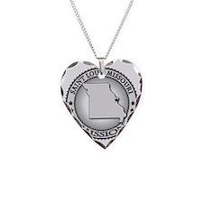 Saint Louis Missouri LDS Miss Necklace Heart Charm