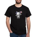 Girl & Democrat Dark T-Shirt