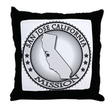 San Jose California LDS Mission Throw Pillow