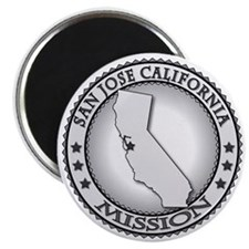 San Jose California LDS Mission Magnet