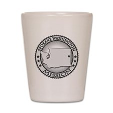 Spokane Washington LDS Mission Shot Glass