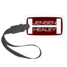 jensen-healey-badge Luggage Tag