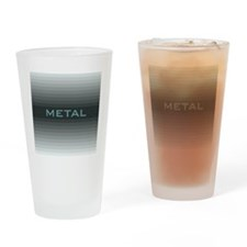 Metal square Drinking Glass