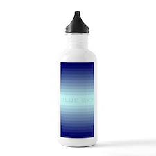 Blue sky journal Water Bottle