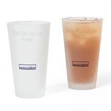 pushbutton Drinking Glass