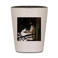 (12p) Pigeon Point Fence Shot Glass