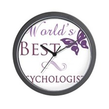 Butterfly_Psychologist Wall Clock