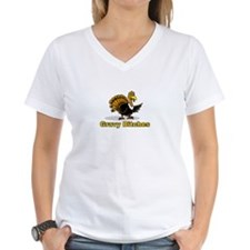 happy thanksgiving turkey day T-Shirt