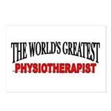 """The World's Greatest Physiotherapist"" Postcards ("