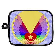 Winged Heart Potholder