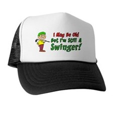 Still Swinger Golf Mug Trucker Hat
