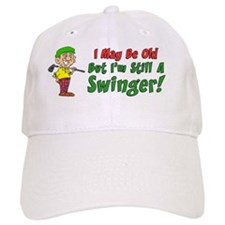Still Swinger Golf Mug Baseball Cap