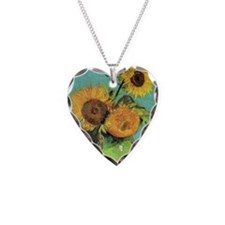 Pillow VG 3 Sunflowers Necklace