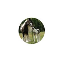 Dated with foal final Mini Button