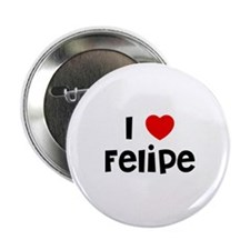 "I * Felipe 2.25"" Button (10 pack)"
