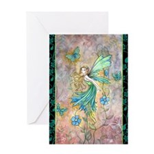 enchanted garden journal cp Greeting Card