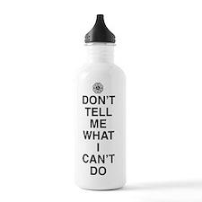 dont-tell-me-light Water Bottle