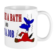 Take-a-Bath-Get-a-Job-Centered Mug