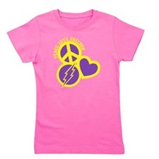 yellow purple, Sheldon Girl's Tee