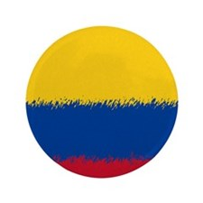 "Colombian Flag 460 3.5"" Button"