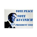 Vote Peace Vote Kucinich Magnet