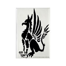Guardian Gryphon Rectangle Magnet (10 pack)