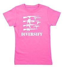 diverse_blk Girl's Tee