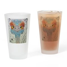 sierra ostrich Drinking Glass