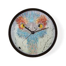 sierra ostrich Wall Clock
