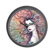 chloris for pillow Wall Clock