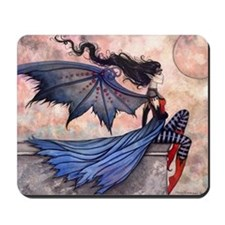 a wicked wind for clock Mousepad