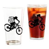 Mountain bike Pint Glasses
