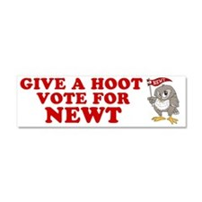 Give-a-Hoot-Next-Bumper-Sticker Car Magnet 10 x 3