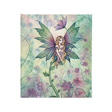 mystic garden 16 x 20 cp Throw Blanket