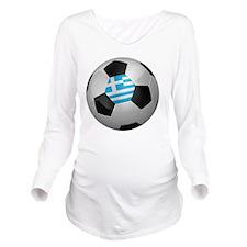 socc_big_greece Long Sleeve Maternity T-Shirt