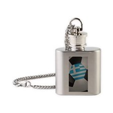 greece_1_iphone_3_ Flask Necklace