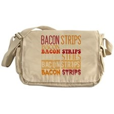 Bacon Strips Messenger Bag
