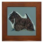 Scottish Terrier - Scotty Dog Framed Tile