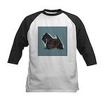 Scottish Terrier - Scotty Dog Kids Baseball Jersey
