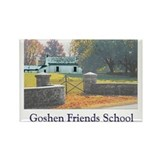 Goshen Friends Rectangle Magnet