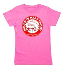 Meat Candy Distressed- Red Girl's Tee