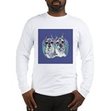 Schnauzer Pair Long Sleeve T-Shirt
