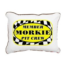 morkiepitcrew_black Rectangular Canvas Pillow