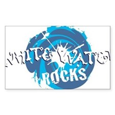 white water rocks Decal