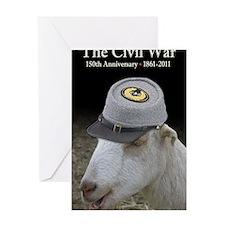 Ruby Civil War Anniversary Journal Greeting Card