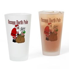 Occupy-North-Pole Drinking Glass