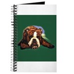 Brindle English Bulldog Journal