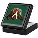 Brindle English Bulldog Keepsake Box