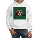 Brindle English Bulldog Hooded Sweatshirt